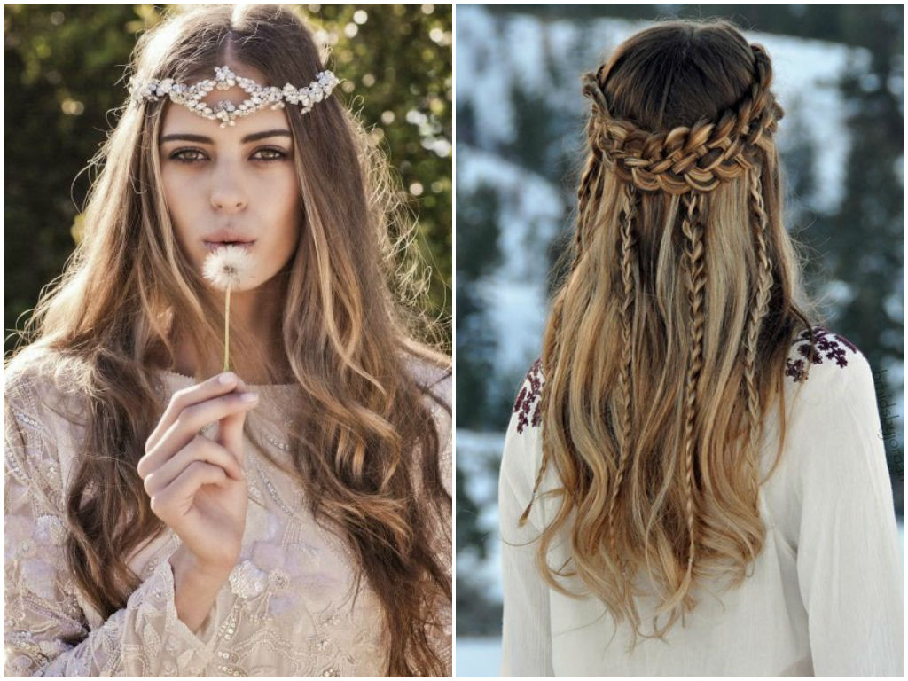 Hippie-Chic Hairstyles