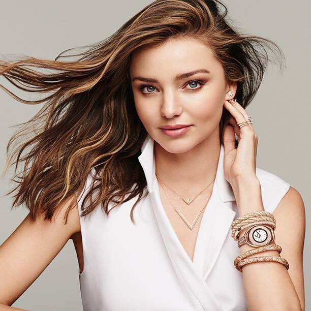 Miranda Kerr English Rose Swarovski