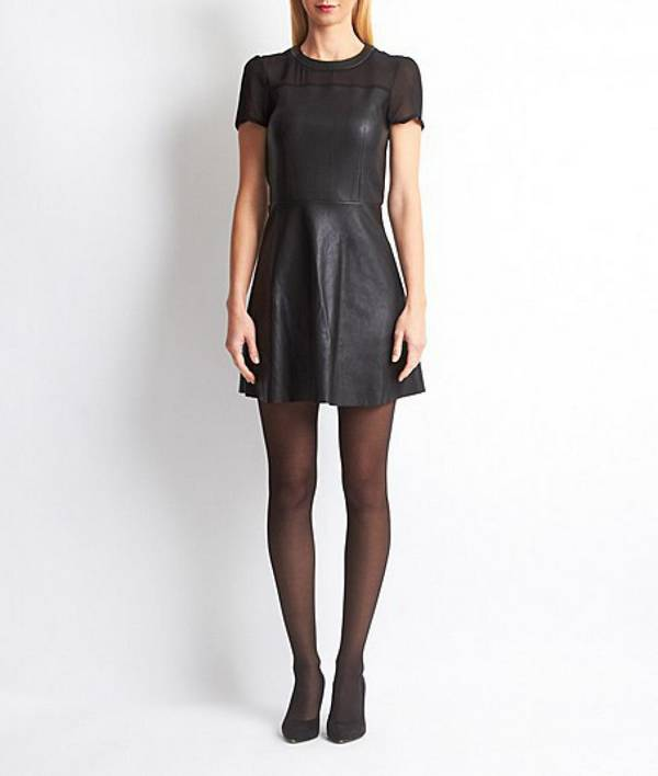 Little Black Dresses New Year 2018: We love this dress with a bow at the shoulder at Etam