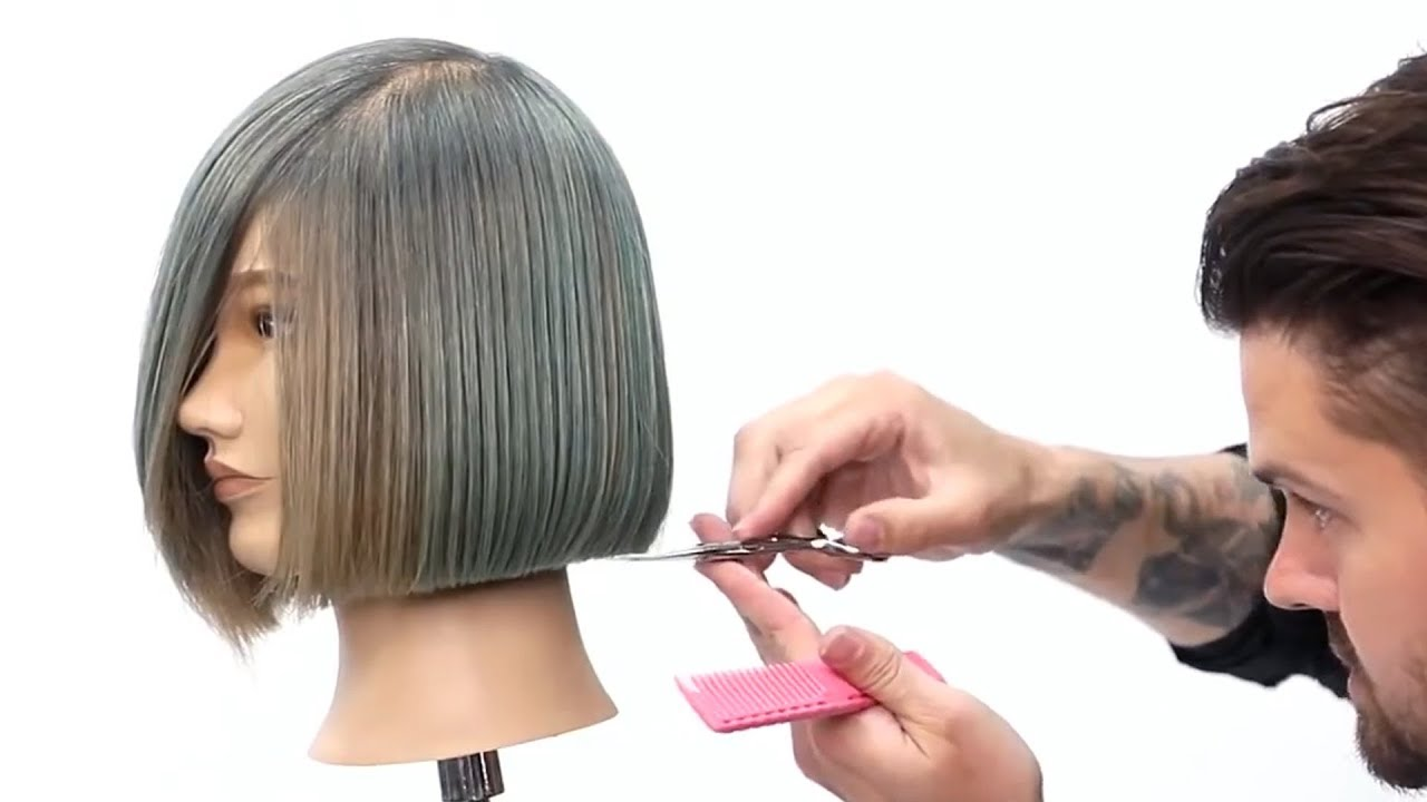 How to Cut Bob Haircuts With Bangs Type of Hairstyles ...